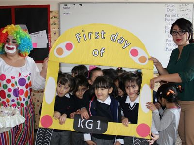 Suleimaniah Welcomes KG 1 Students