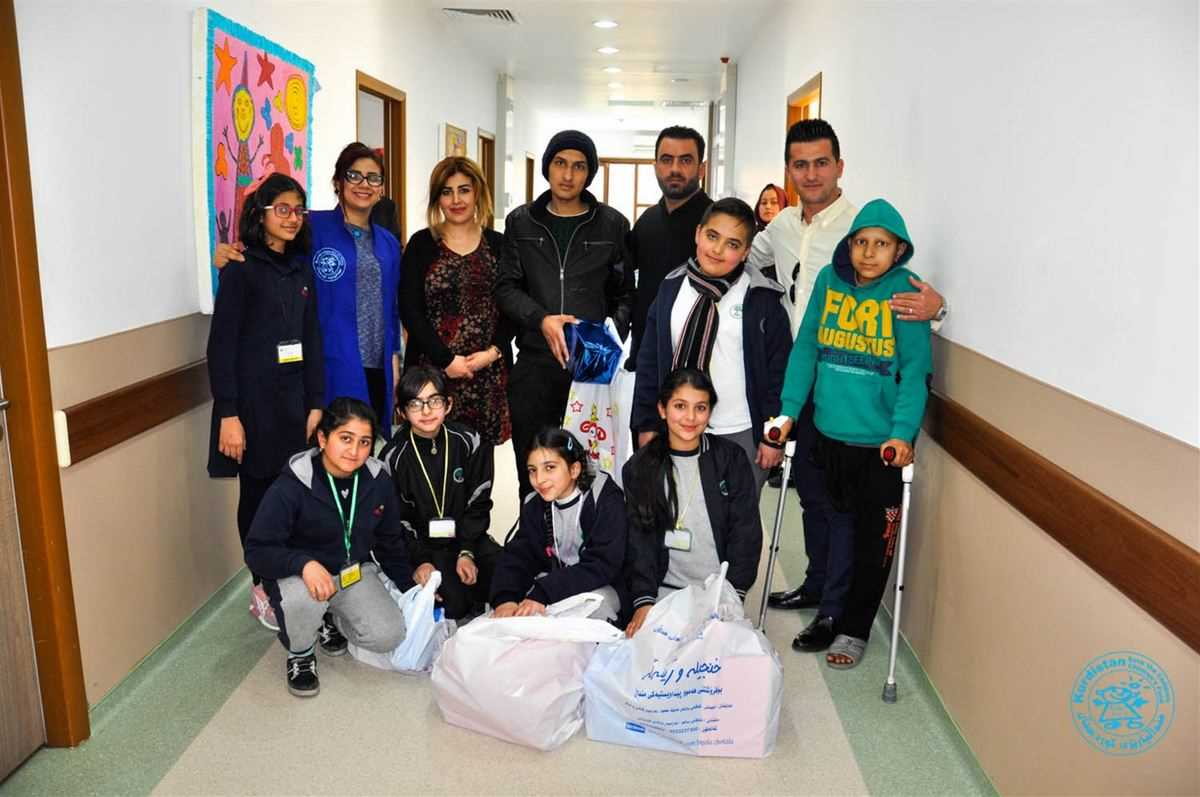 SLO® Outreach Prefects Visit Children at the Local Hospital