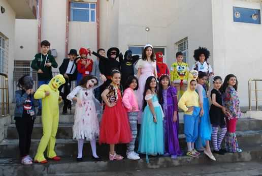 Students Dress Up for Creative Costume Party