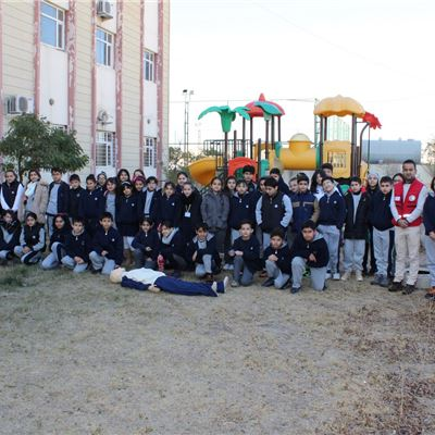 Students at Sulaimaniah International School Learn About First Aid