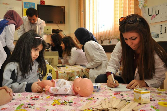 Suleimaniah Students Participate in Doctor Club