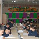 Suleimaniah Students Participate in Wheel Game