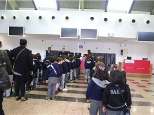 SIS Students Visit Suleimaniah Airport