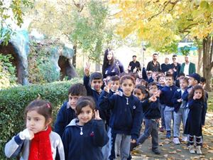 KG2 Students Visit the Zoo