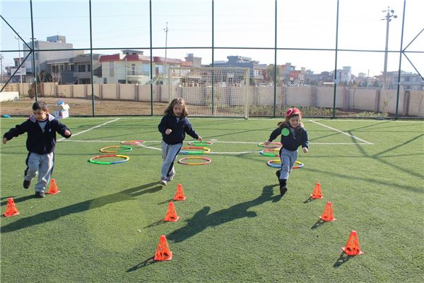 KG 2 Students at Sulaimaniah Engage in Exciting Game Day