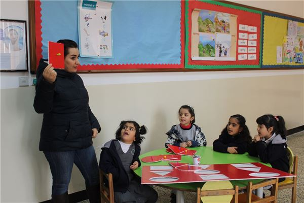 Suleimaniah KG Students Enjoy Learning Activity