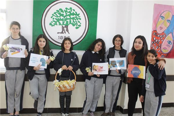SULEIMANIAH STUDENTS CELEBRATE INTERNATIONAL WOMEN'S DAY