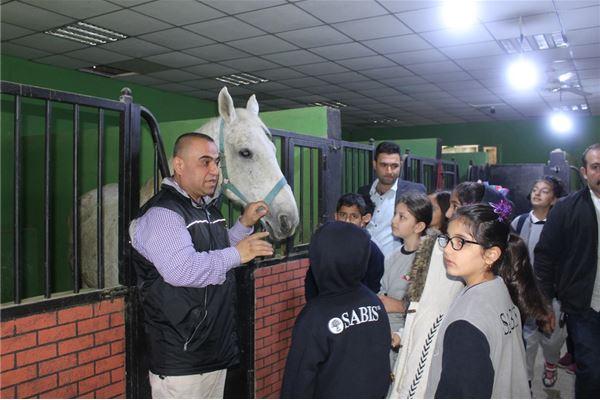 SULEIMANIAH IS GR.4 VISIT TO GARDENIA HORSE CLUB