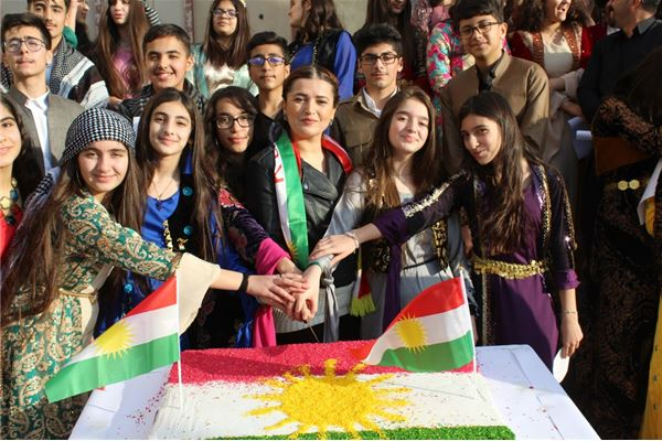 SULEIMANIAH IS STUDENTS CELEBRATE FLAG DAY